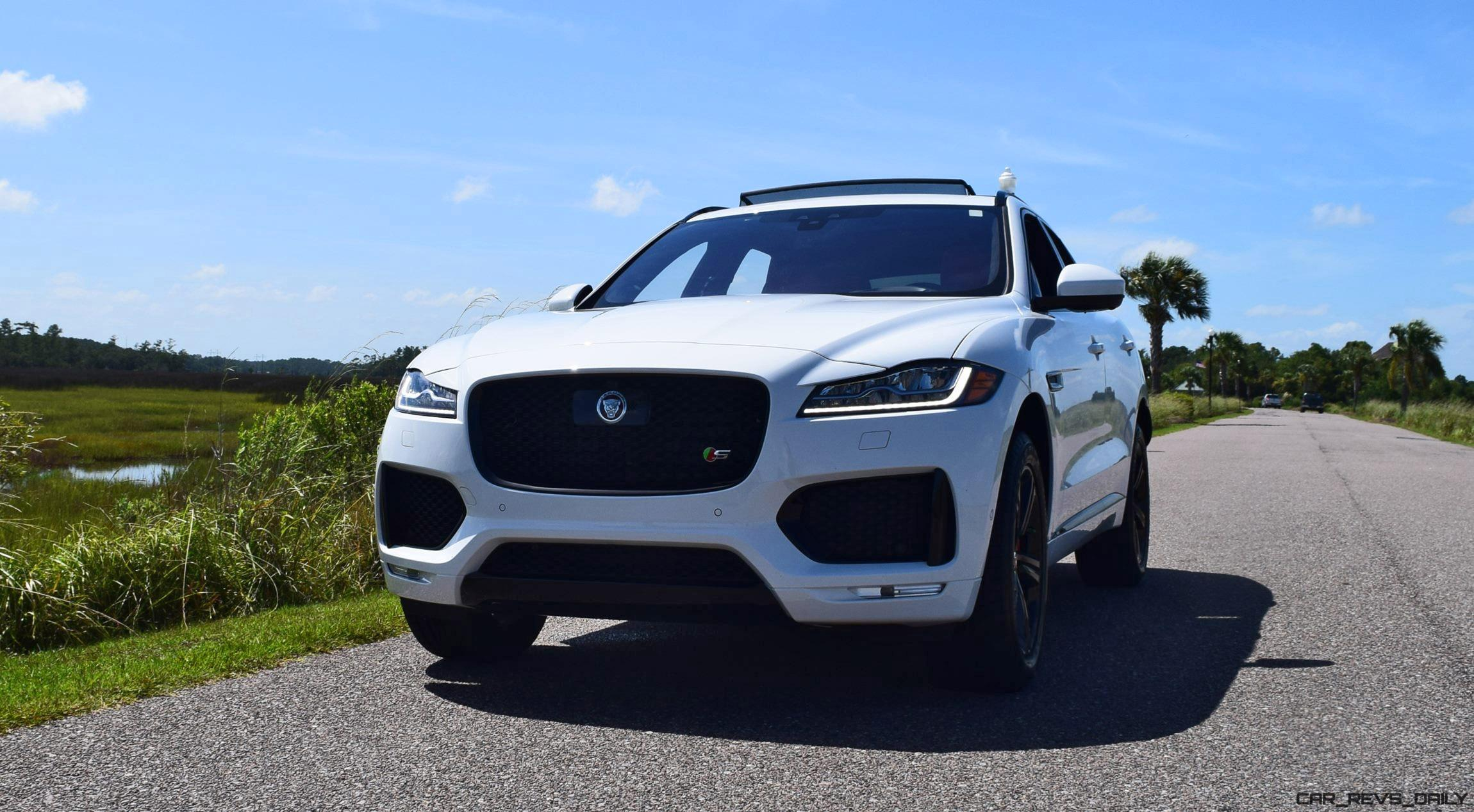 2017 jaguar f pace s usa first drive review video and. Black Bedroom Furniture Sets. Home Design Ideas