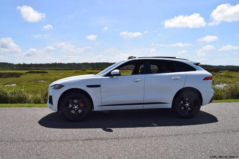 2017 Jaguar F-Pace S - White Exterior  71
