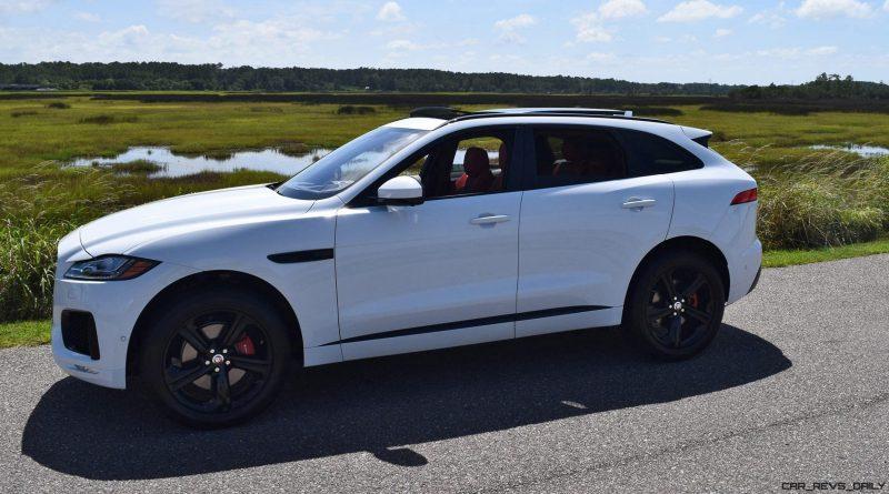 2017 Jaguar F-Pace S - White Exterior  72