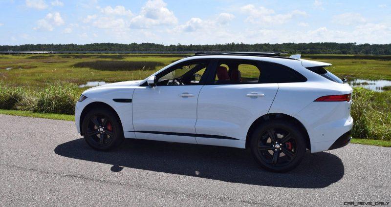 2017 Jaguar F-Pace S - White Exterior  73