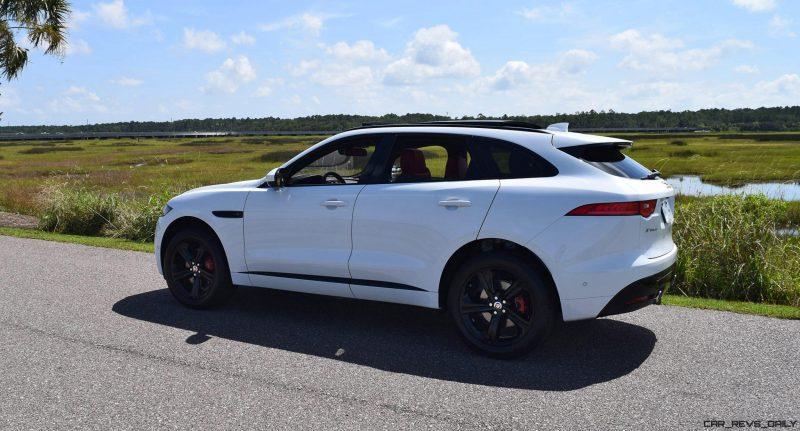 2017 Jaguar F-Pace S - White Exterior  75