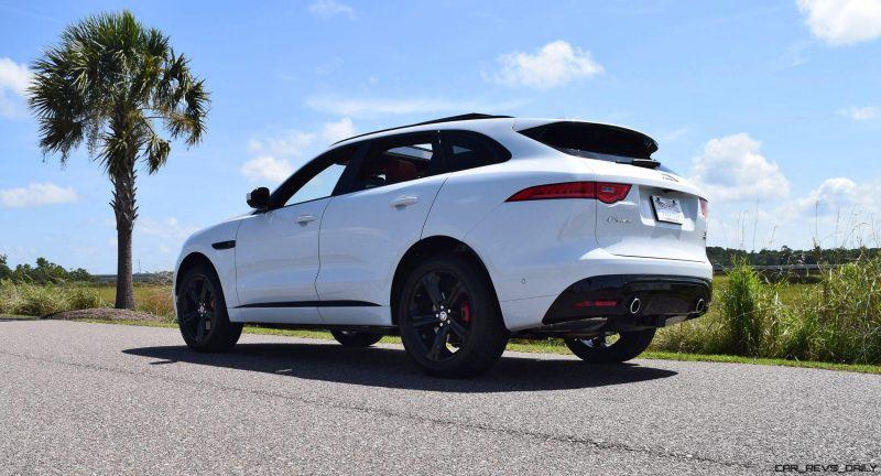 2017 Jaguar F-Pace S - White Exterior 77