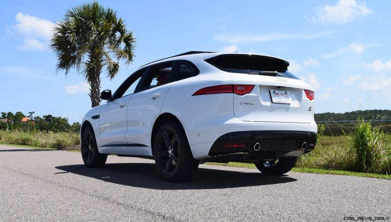 2017 Jaguar F-Pace S - White Exterior  78