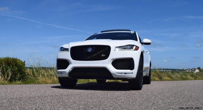 2017 Jaguar F-Pace S - White Exterior 8
