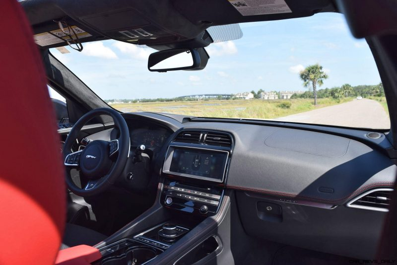 2017 Jaguar F-Pace S - White Exterior  85