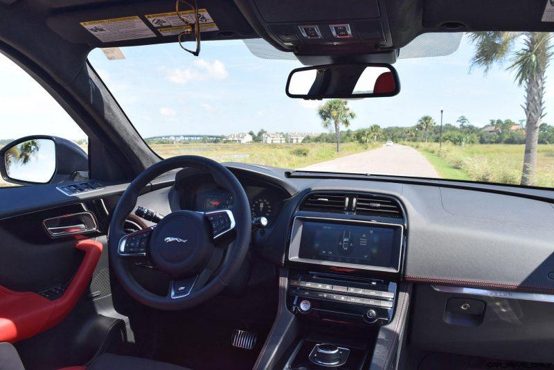 2017 Jaguar F-Pace S - White Exterior  86