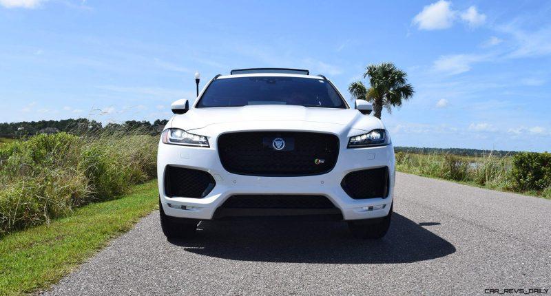 2017 Jaguar F-Pace S - White Exterior  97