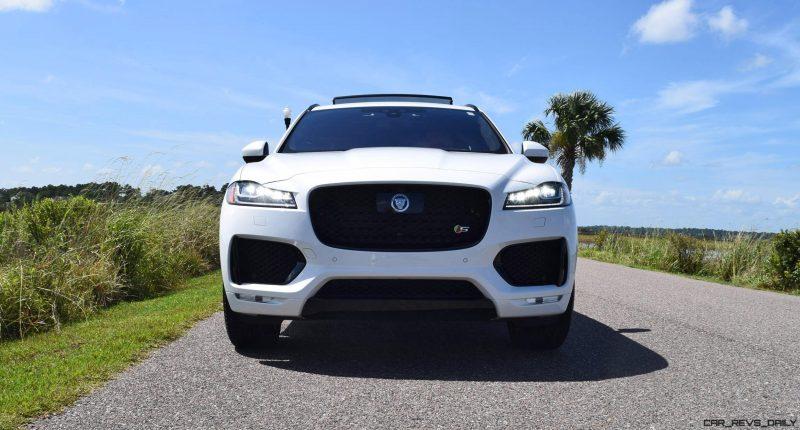 2017 Jaguar F-Pace S - White Exterior 99
