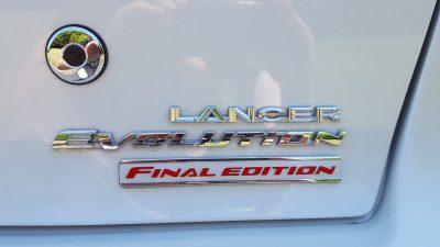 Mitsubishi Lancer Evolution Final Edition 1
