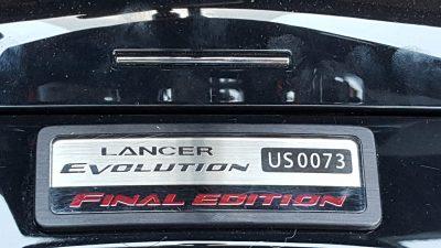 Mitsubishi Lancer Evolution Final Edition 16