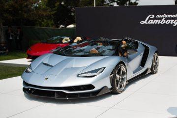 Stefano Domenicali unveils Centenario Roadster