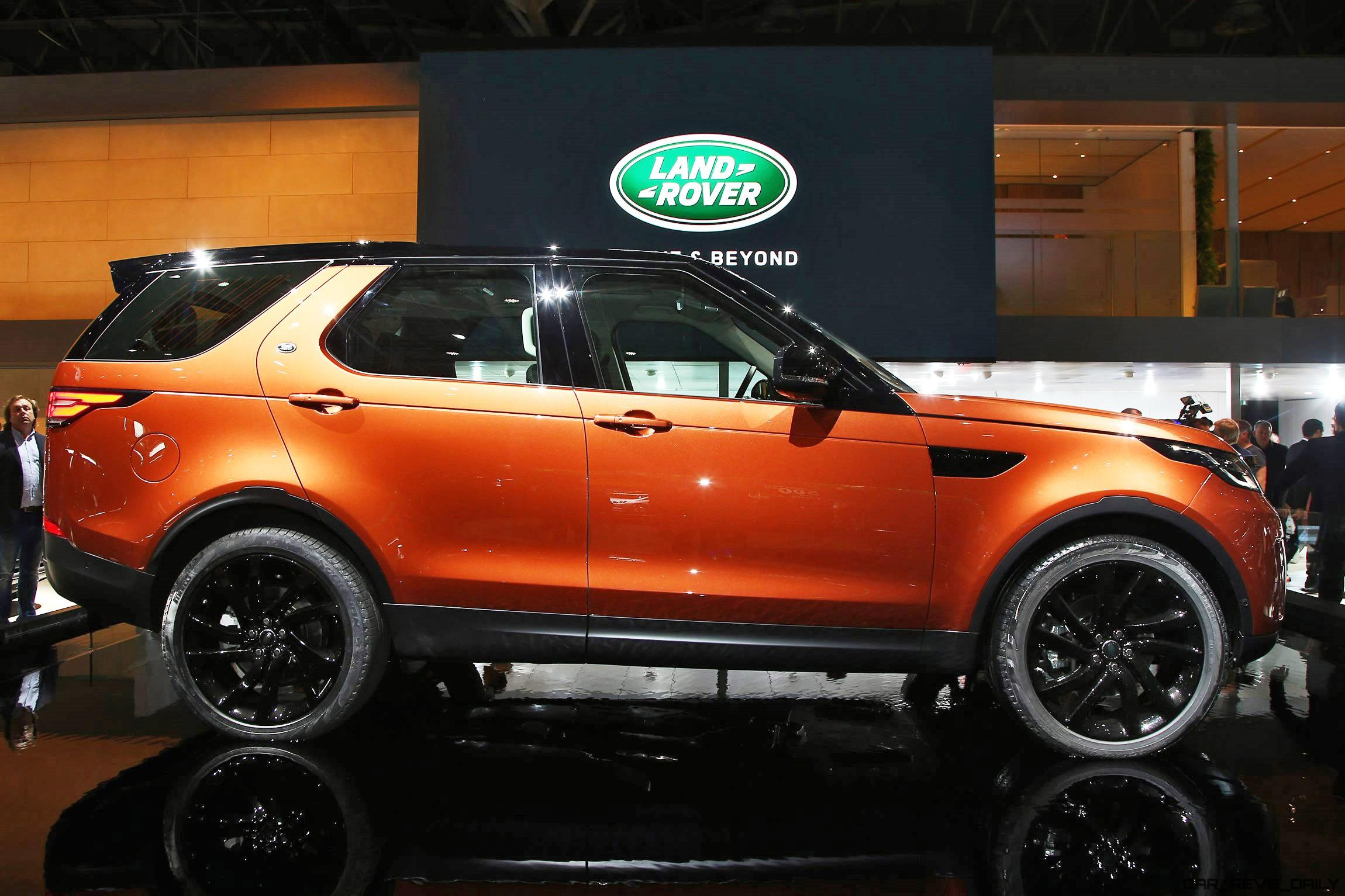 land rover unveils all new 2018 discovery. Black Bedroom Furniture Sets. Home Design Ideas