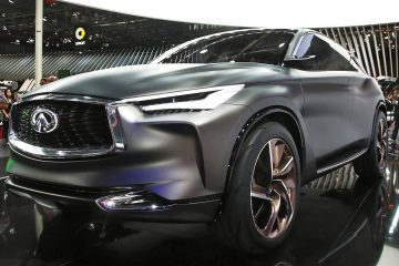 Updated with Live Photos - 2016 Infiniti QX Sport Inspiration Concept