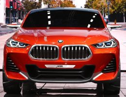 2016 BMW X2 Concept – Live Paris Photos/Analysis of Intriguing New Design Language