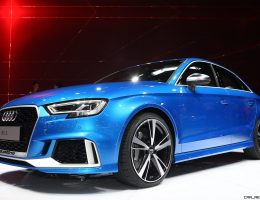 Update1 – Audi Pulls No Punches With 400HP RS3 Sedan