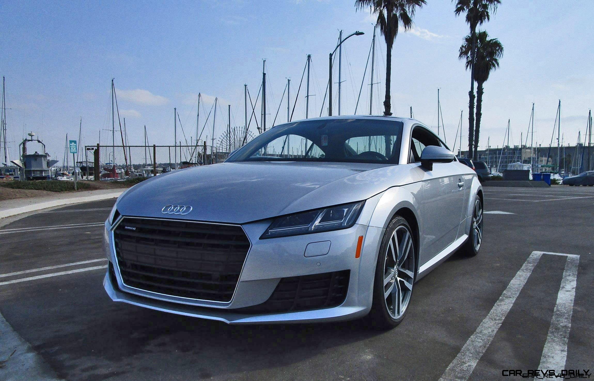 2016 audi tt coupe 2 0t quattro s tronic road test review by ben lewis. Black Bedroom Furniture Sets. Home Design Ideas