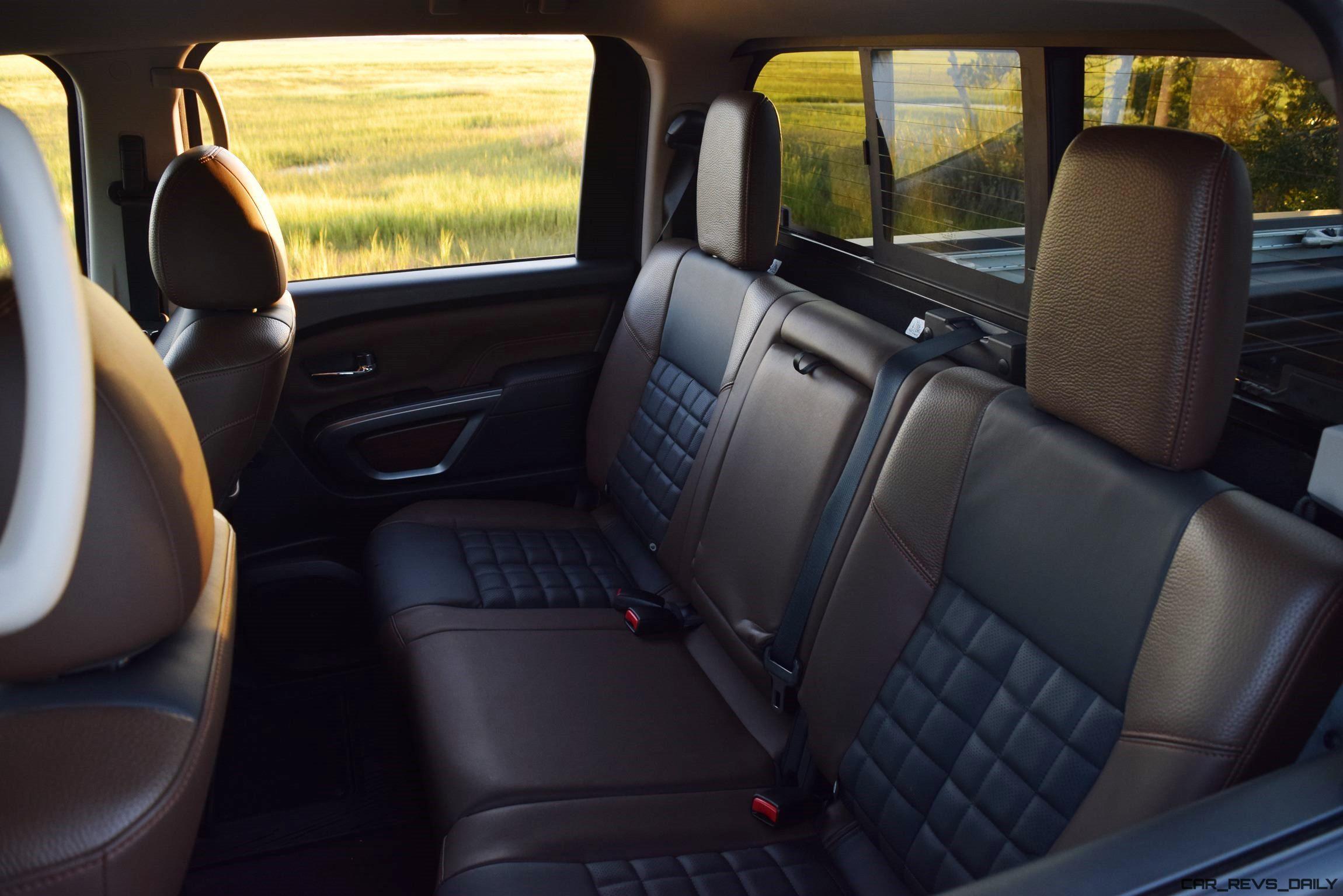 2016 Nissan Titan Xd Platinum Reserve 5 6l V8 Interior 9
