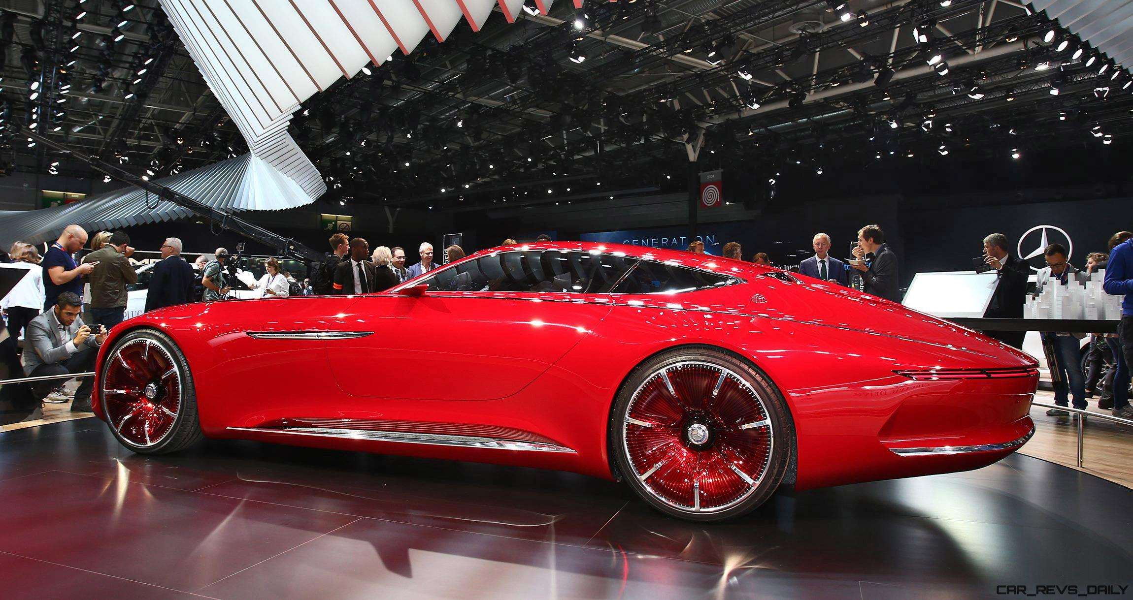 2016 vision mercedes maybach 6 paris debut gallery render for Concept car 2016