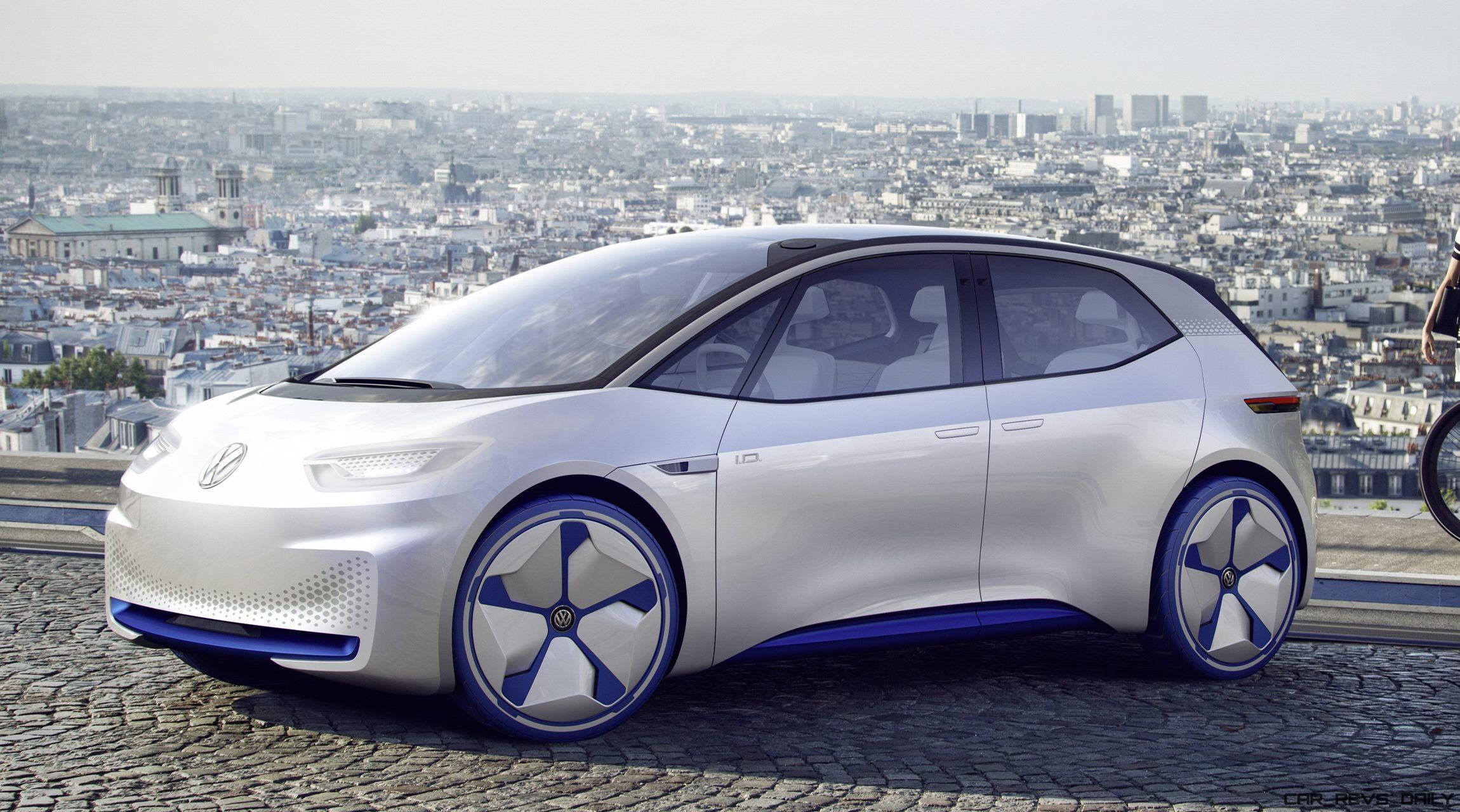 2016 Volkswagen Id Concept 187 Car Revs Daily Com