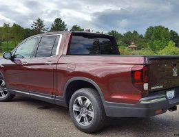 2017 Honda Ridgeline AWD RTL-E – Road Test Review – By Carl Malek