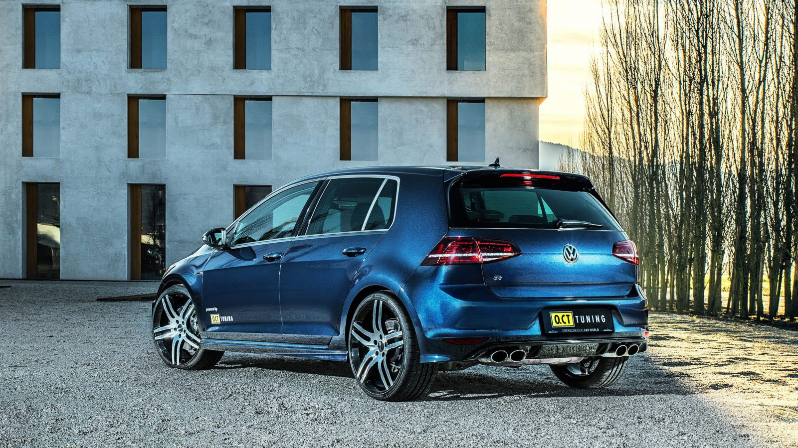 3 second vw oct tuning liberates 450hp from golf 7 r car revs. Black Bedroom Furniture Sets. Home Design Ideas