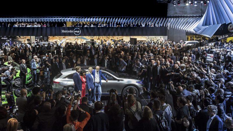 Mercedes Benz Auf Der Mondial De L Automobile 2016