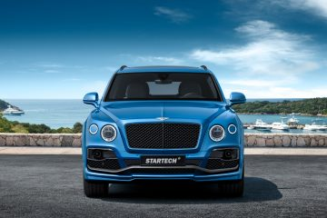 2016 Bentley BENTAYGA By StarTech Adds Remote Exhaust + 23s
