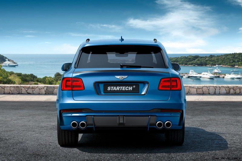 2016 Bentley BENTAYGA By StarTech Adds Remote Exhaust + 23s