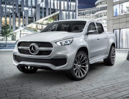 Mercedes-Benz X-Class Concepts Preview 2017 Production Pickups!