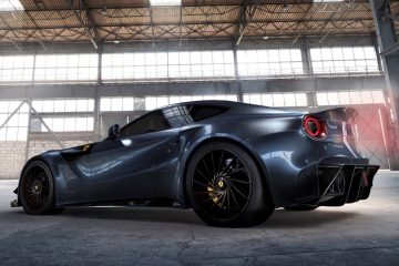 2016 BENGALA F12 Caballeria Is All-Carbon Ferrari Style/Speed Upgrade