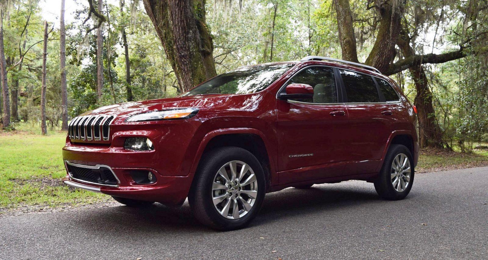 2016 jeep cherokee overland 4x4 v6 road test review. Black Bedroom Furniture Sets. Home Design Ideas