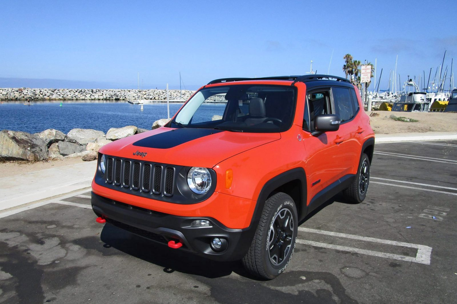 Jeep Trailhawk Lifted >> 2016 Jeep RENEGADE Trailhawk 4x4 - Road Test Review - By Ben Lewis » Car-Revs-Daily.com