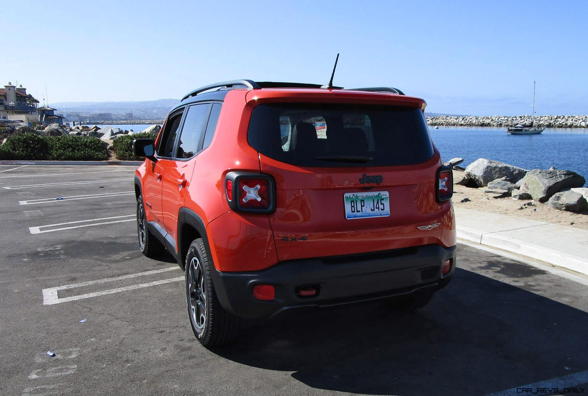 2016 Jeep RENEGADE Trailhawk 4x4 Road Test Review By