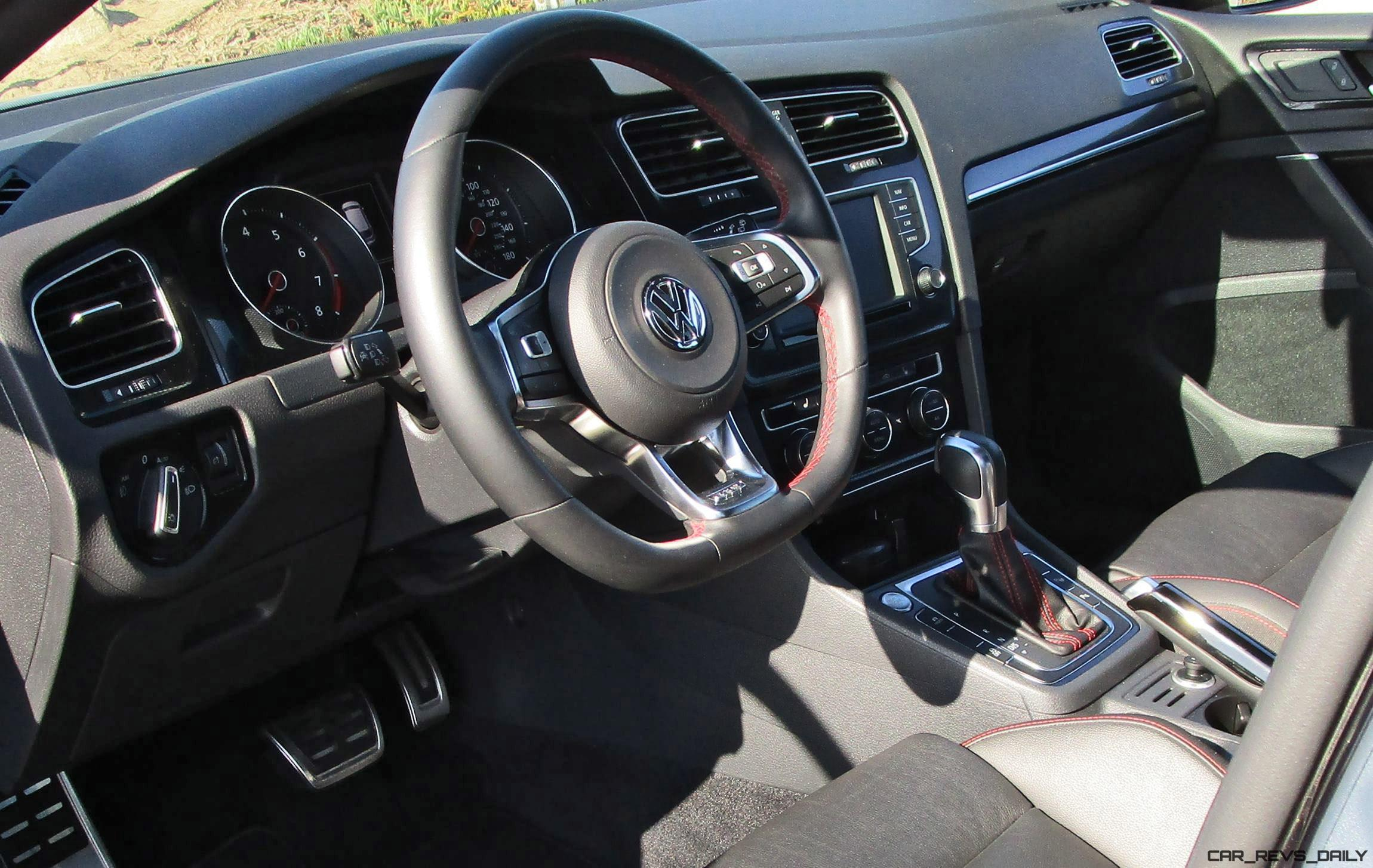 2016 Vw Golf Gti Autobahn Performance Pack Road Test Review By