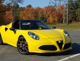 2016 Alfa Romeo 4C Spider – Road Test Review – By Carl Malek