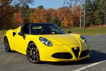 2016 Alfa Romeo 4C Spider - Road Test Review - By Carl Malek