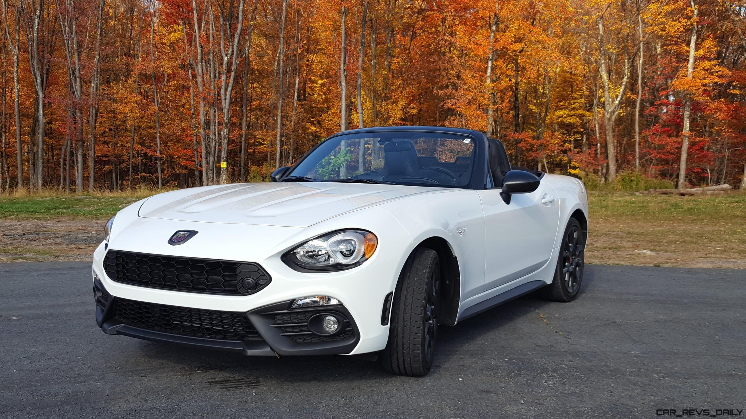 2017 fiat abarth 124 spider - road test review -carl malek