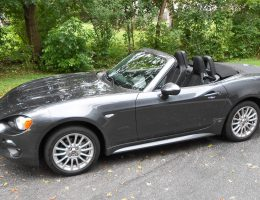 "2017 FIAT 124 Spider – Road Test Review – By Ken ""Hawkeye"" Glassman"