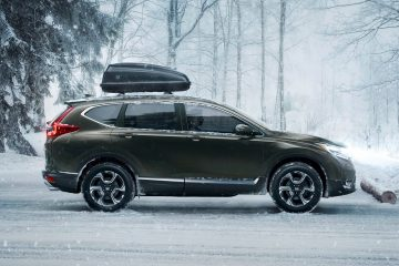 2017 Honda CR-V - Turbo-powered Redesign Continues March Upmarket