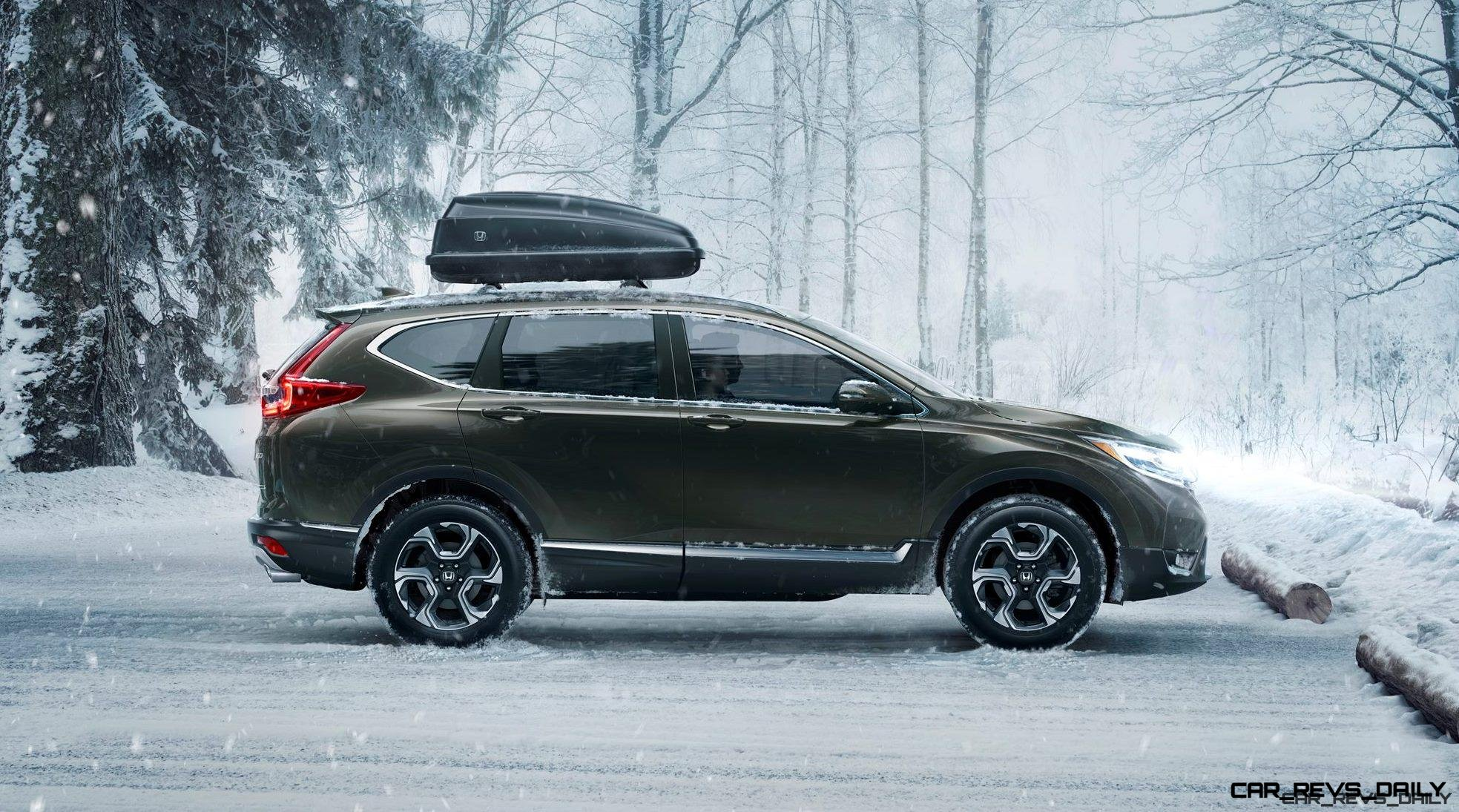 2017 Honda CR-V – Turbo-powered Redesign Continues March Upmarket