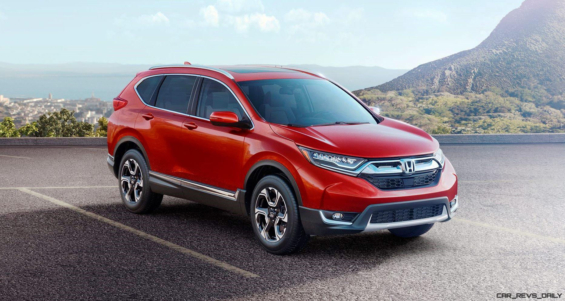 2017 honda cr v turbo powered redesign continues march for Where is the honda cr v built