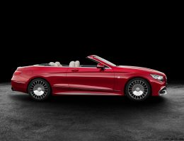 Gangster Glam!  2017 Mercedes-Maybach S650 Cabriolet