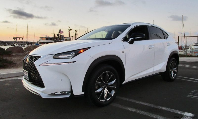 2016 lexus nx200t f sport awd road test review by ben lewis. Black Bedroom Furniture Sets. Home Design Ideas