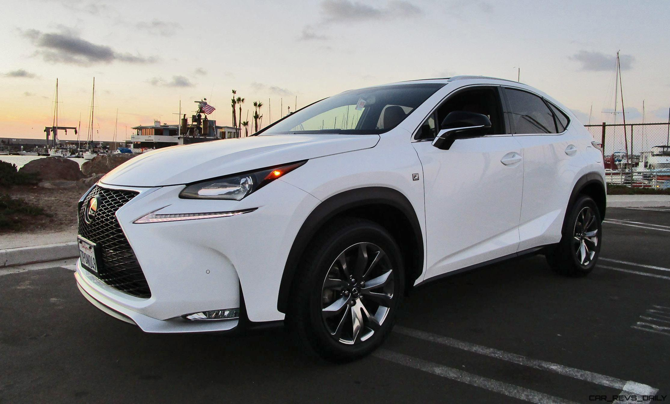 Lexus Nx 200T F Sport >> 2016 Lexus Nx200t F Sport Awd Road Test Review By Ben Lewis