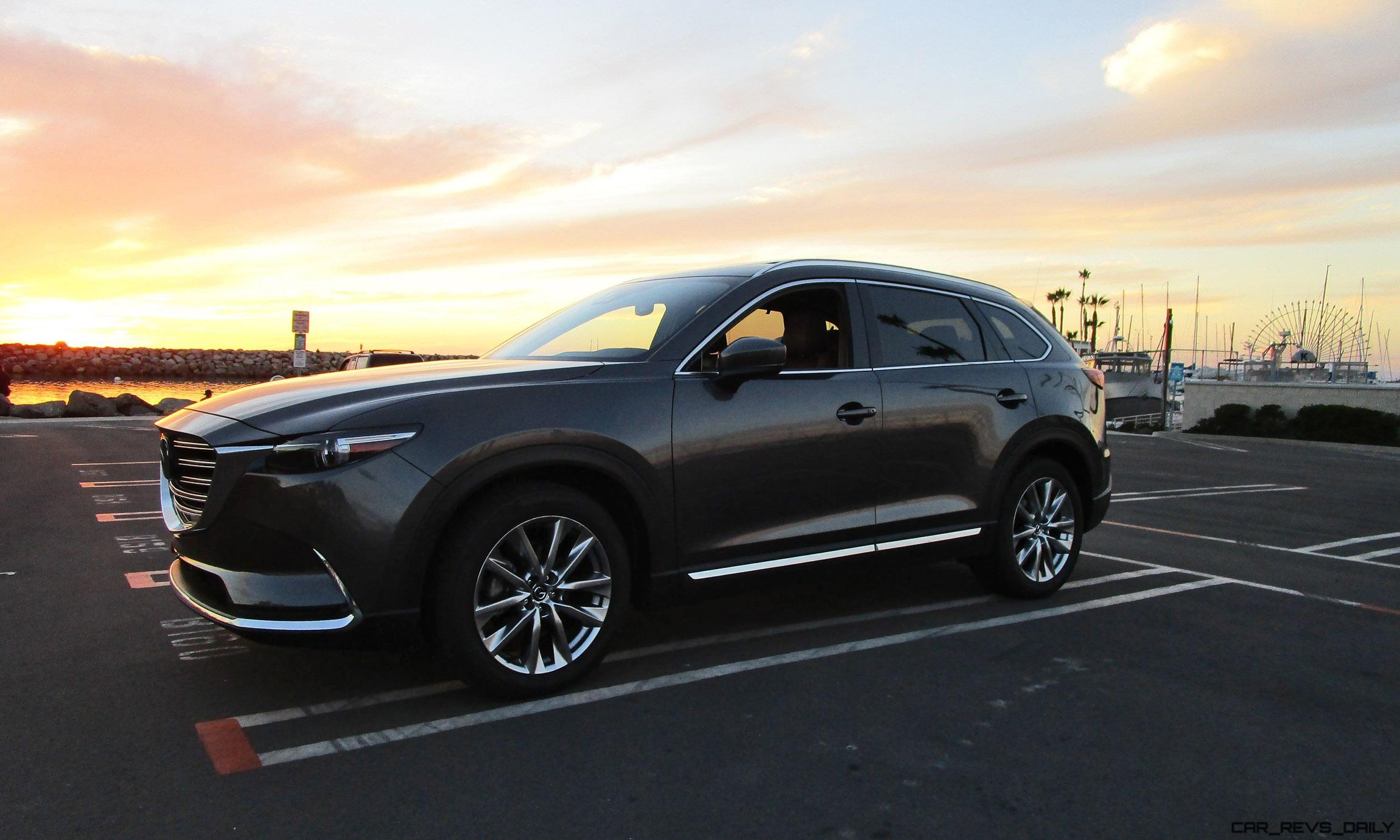 2016 Mazda Cx 9 Signature Road Test Review By Ben Lewis