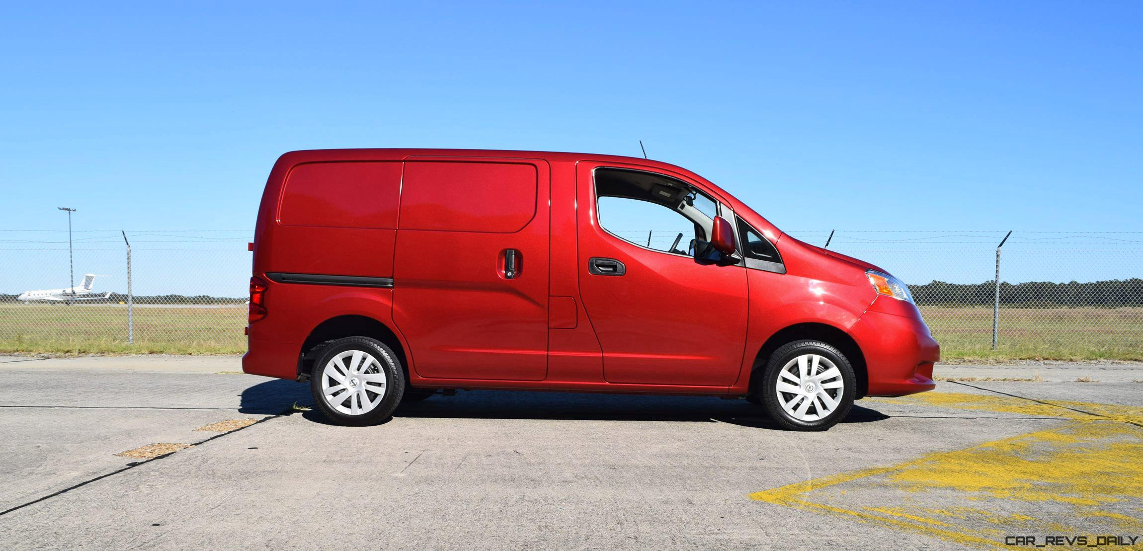 2016 nissan nv200 cargo sv road test review. Black Bedroom Furniture Sets. Home Design Ideas