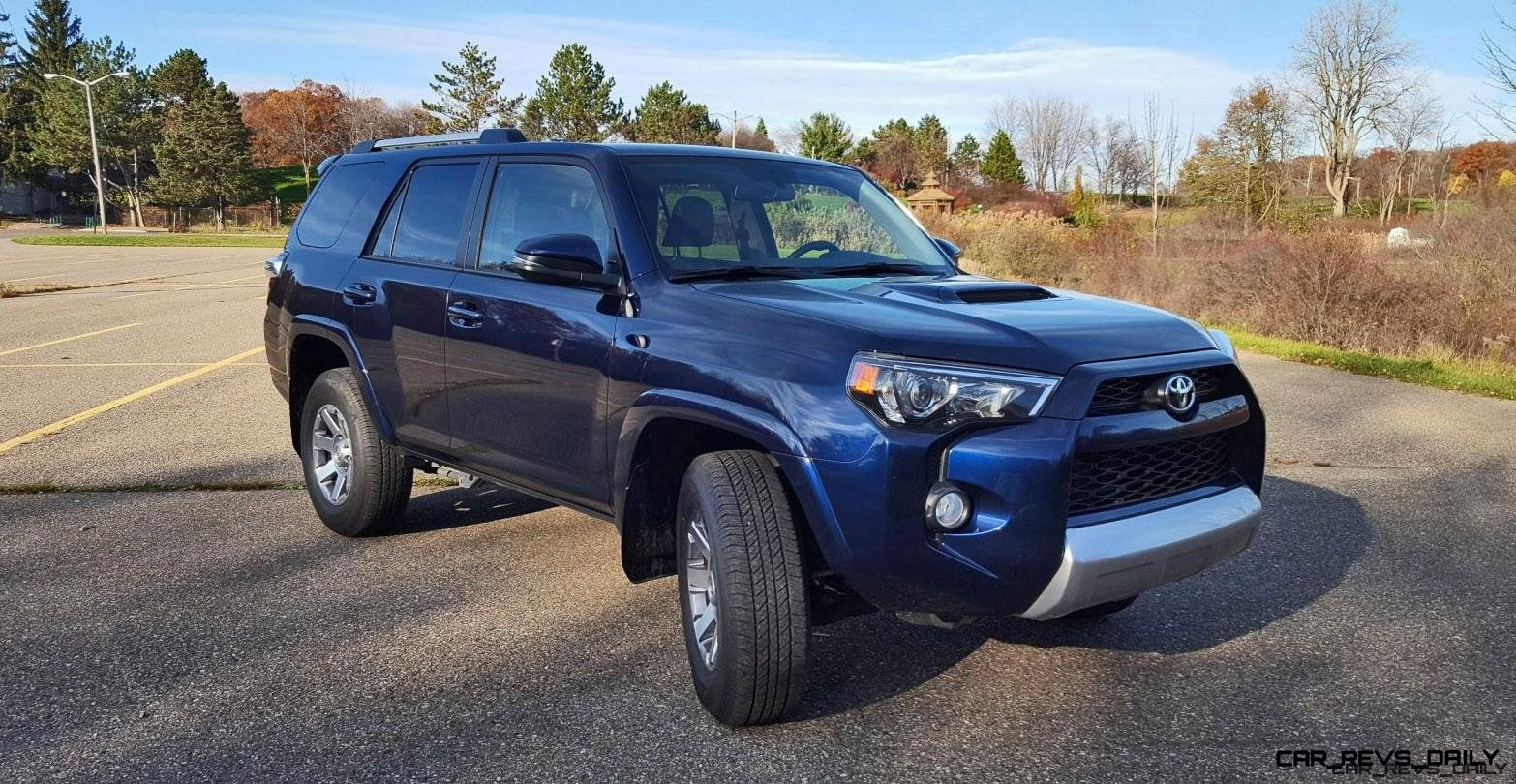 4Runner Trail Premium >> Road Test Review 2016 Toyota 4runner Trail Premium By