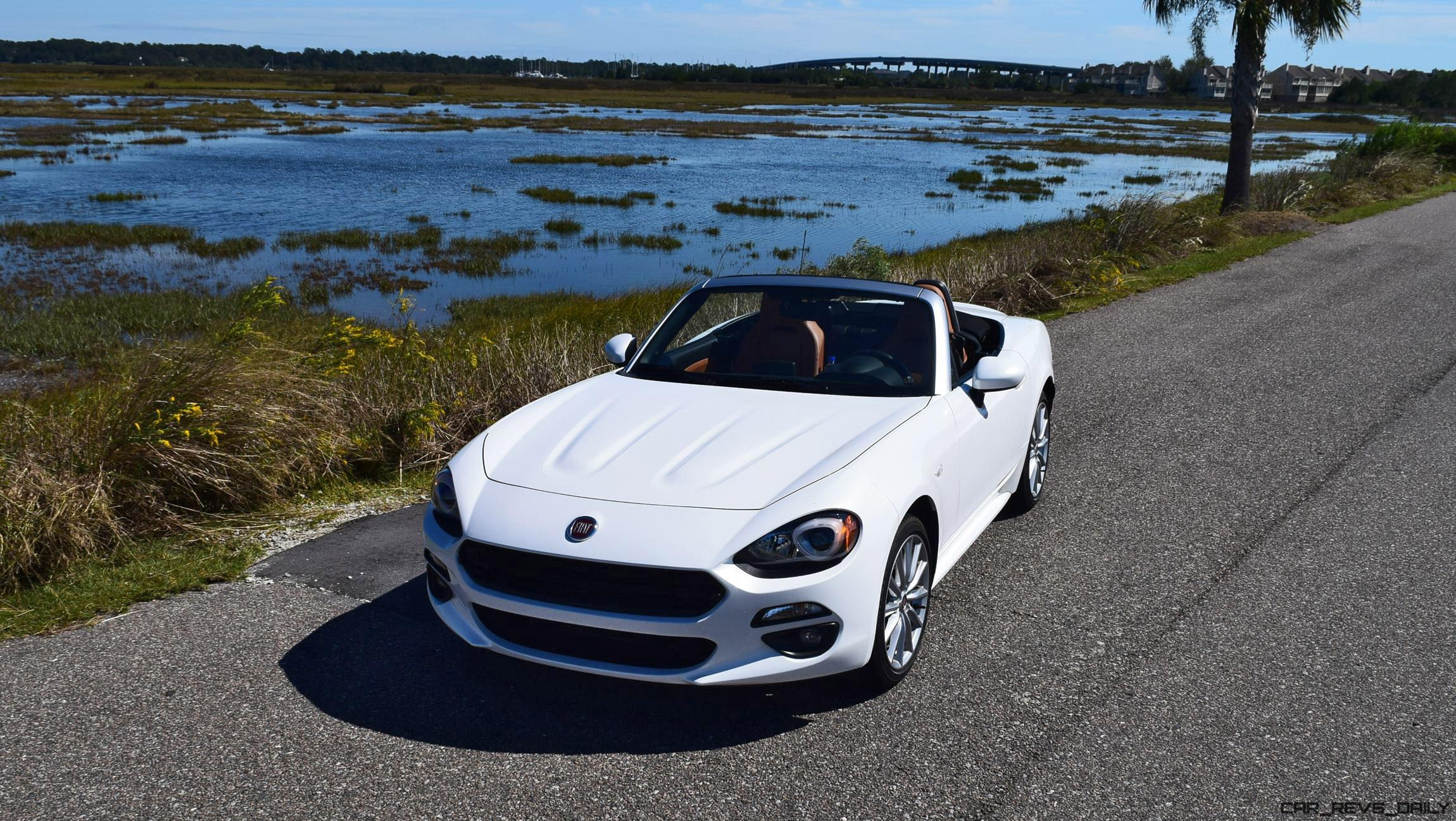 2017 fiat 124 spider road test review hd drive video. Black Bedroom Furniture Sets. Home Design Ideas