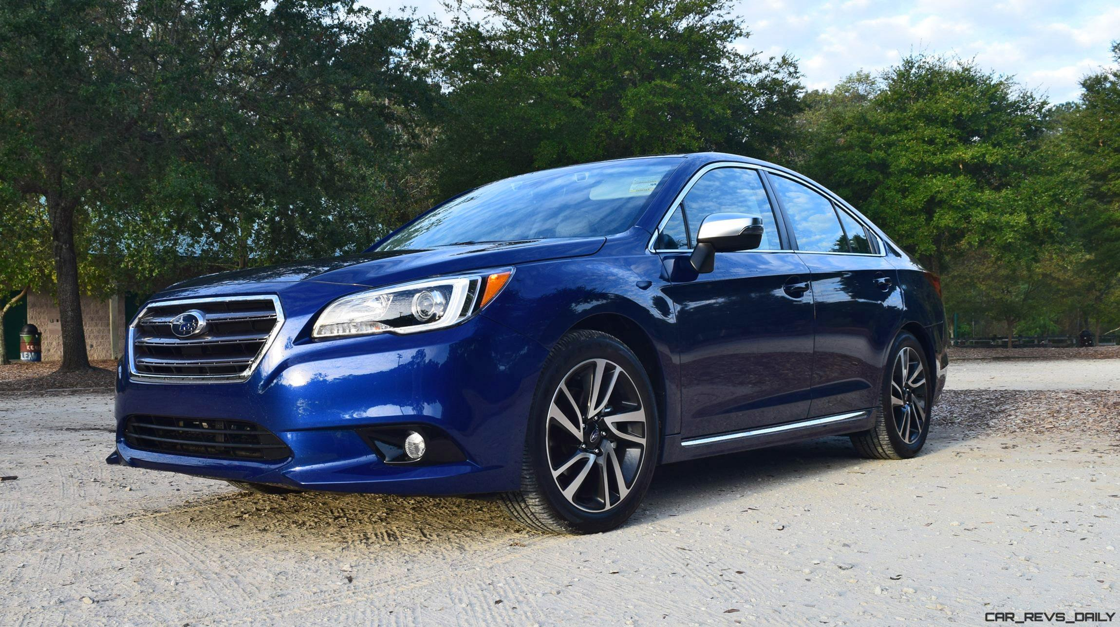 2017 Subaru Legacy 2.5i SPORT - HD Road Test Review