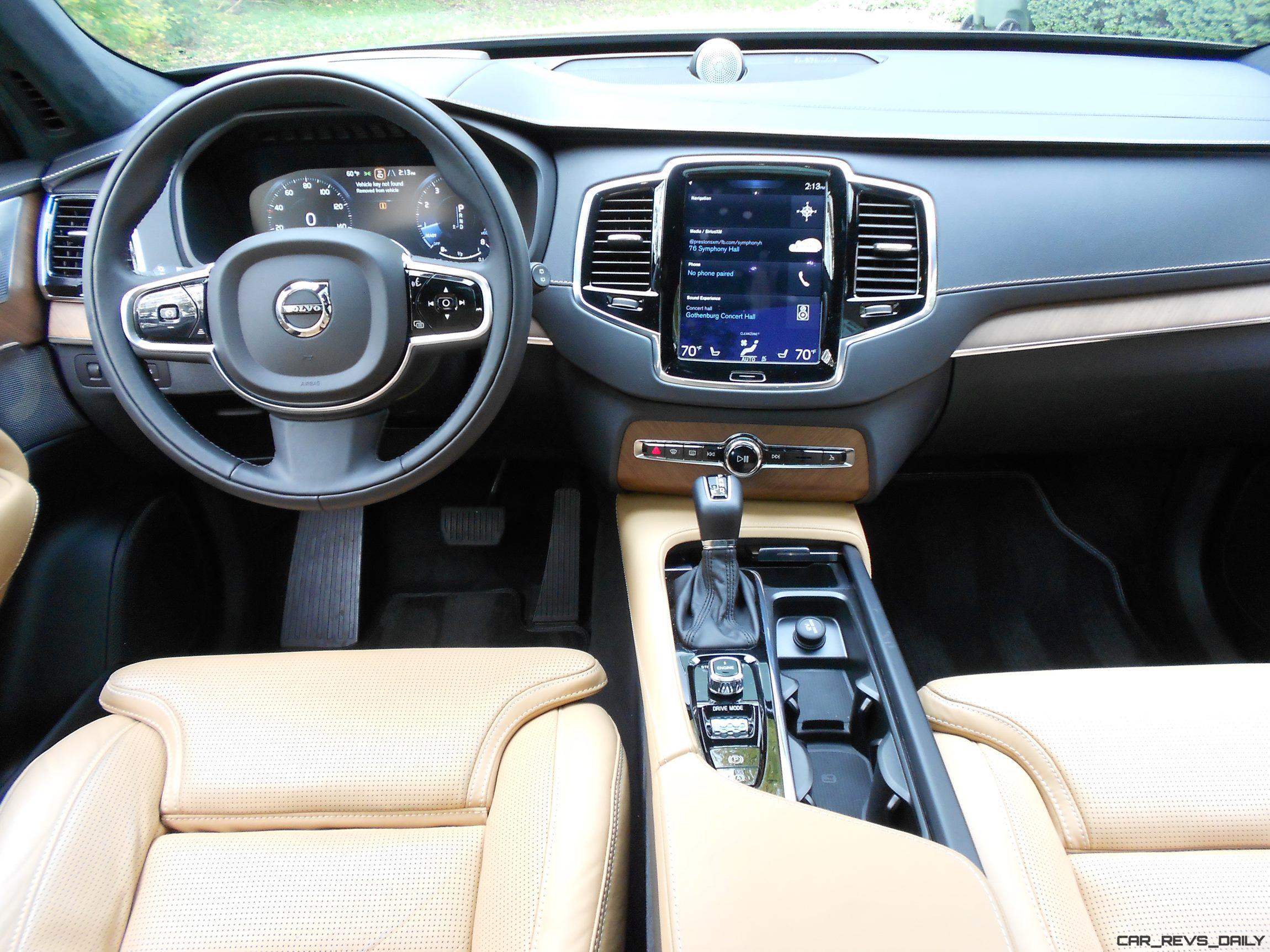 2017 Volvo Xc90 T6 Inscription Awd Interior Photos 4